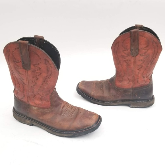 Ariat Other - Ariat Leather Cowboy Boots Size 10 D